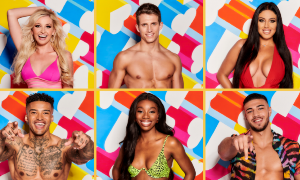 love island cast physiques