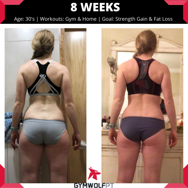 8 week body transformation
