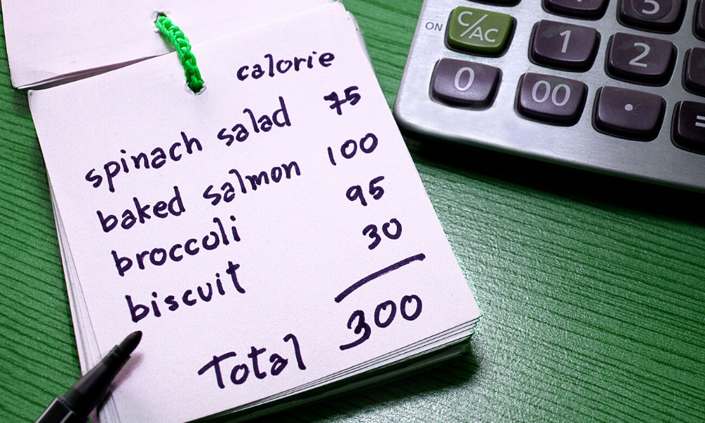 tracking calories